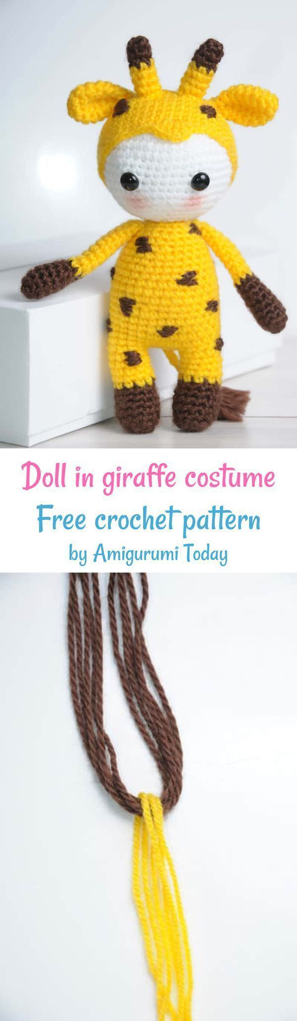 Tiny giraffe amigurumi pattern - Amigurumi Today   2056x600