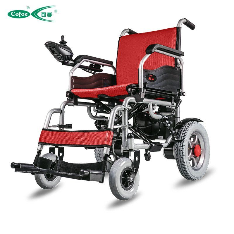electric wheelchair medical equipment folding portable lightweight