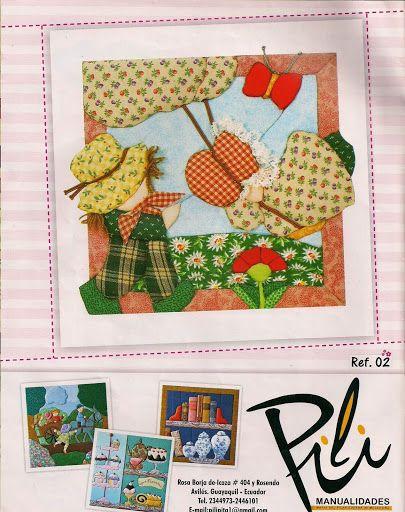 QUILI N°122 PACHWORK SIN COSTURA - Laura Lunansky - Picasa Web Album
