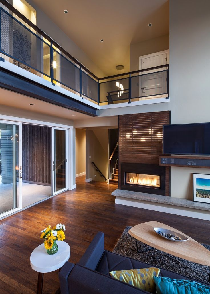 Modern Interior Showing Upstairs And Downstairs  Home Decor Awesome Luxury Modern Living Room Design Inspiration