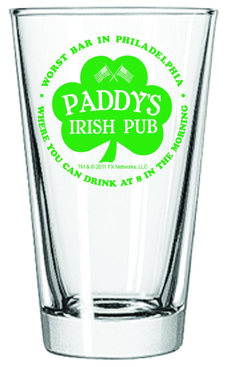 It\'s Always Sunny in Philadelphia Paddy\'s Pint Glass in 2018 | Merch ...