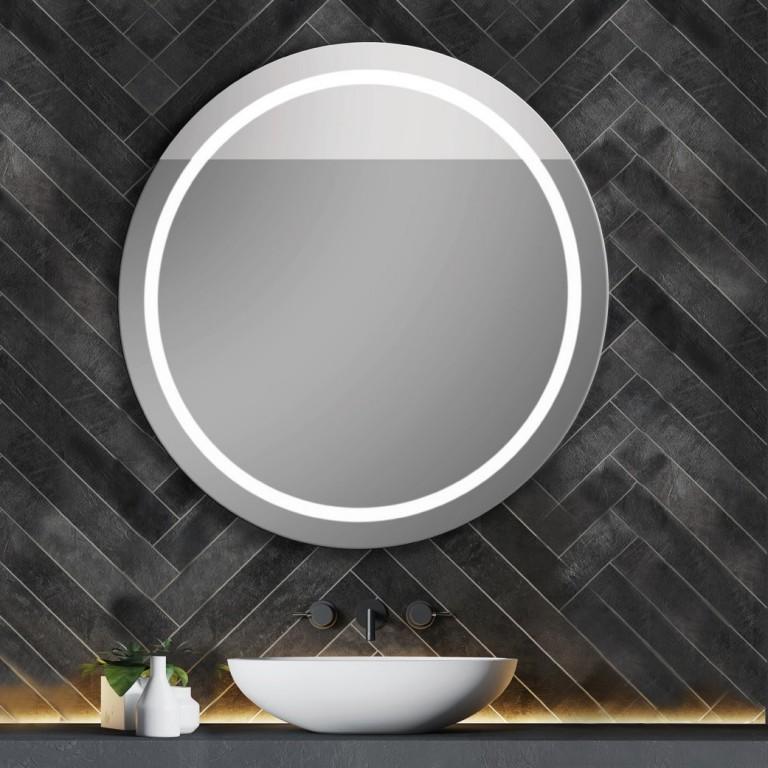 Espejo Redondo Con Luz Led Integrada 159 Euros Diametro 60 Cm Luz