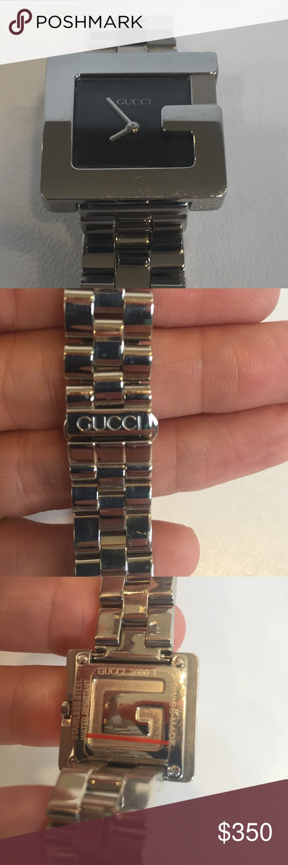 ca07a178d3e Gucci women s 3600 L G-watch Some slight scratching. Needs battery. Gucci  Accessories Watches