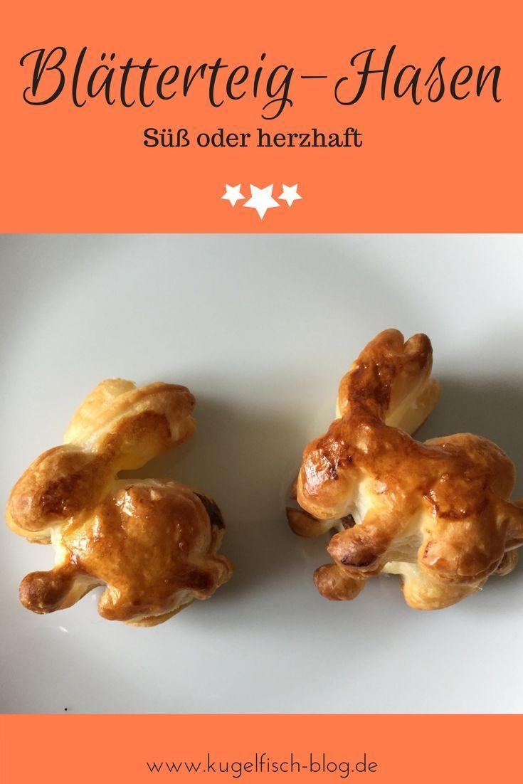 Blatterteig Hasen Fur S Osterfruhstuck Suss Oder Herzhaft Ostern