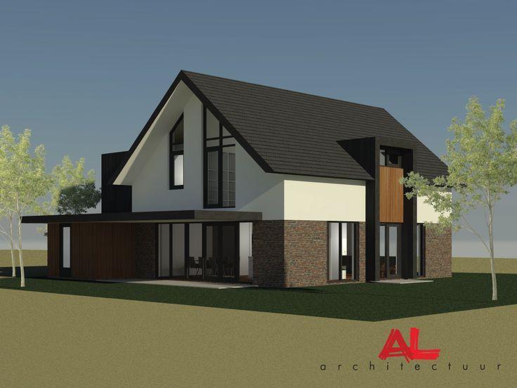 Afbeeldingsresultaat voor architectuur vrijstaande woning for Moderne vrijstaande woning
