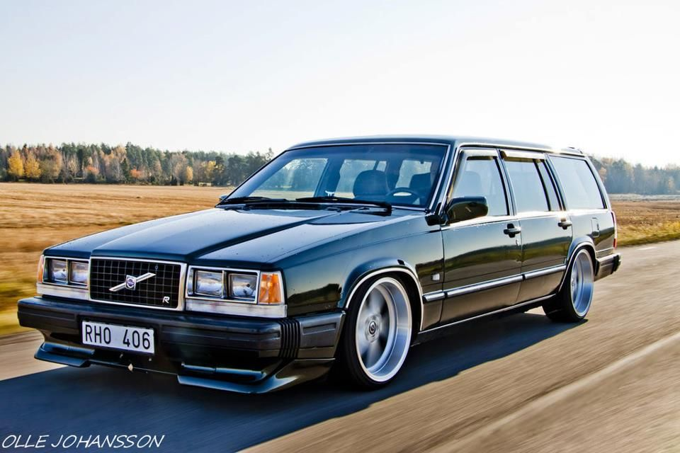 Volvo 740 Mods - Volvo R Shes Coming After Your Groceries With A Hp Turbosel - Volvo 740 Mods