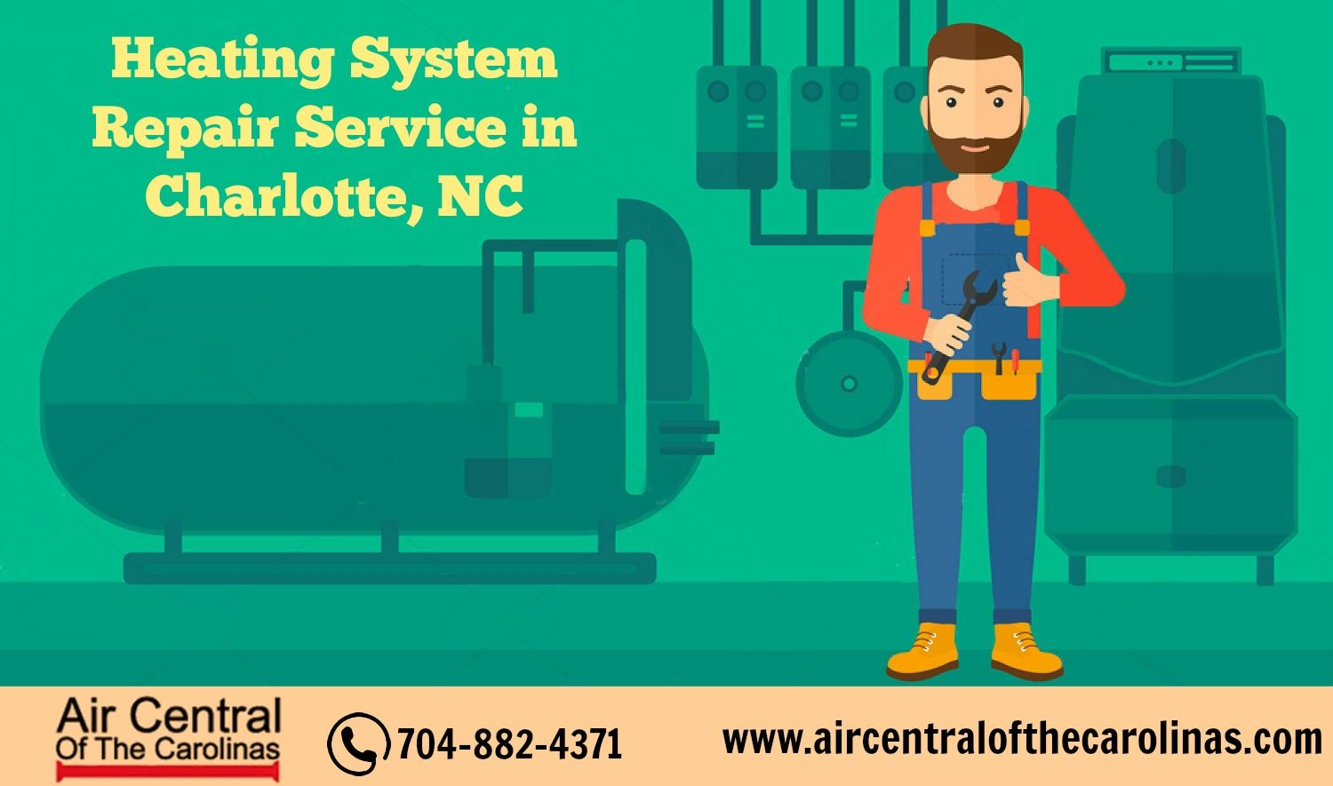 Heating System Repair Service in Charlotte,NC | Custom HVAC Services ...