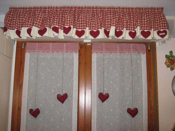 Tende Soggiorno ~ Tende country per la cucina projects to try window