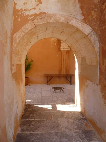 Monastery of Agia Triada, Crete,Greece