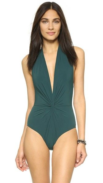 863060578e998 KARLA COLLETTO . #karlacolletto #cloth #dress #top #shirt #sweater #skirt  #beachwear #activewear. Karla Colletto Low Back Plunge Swimsuit ...