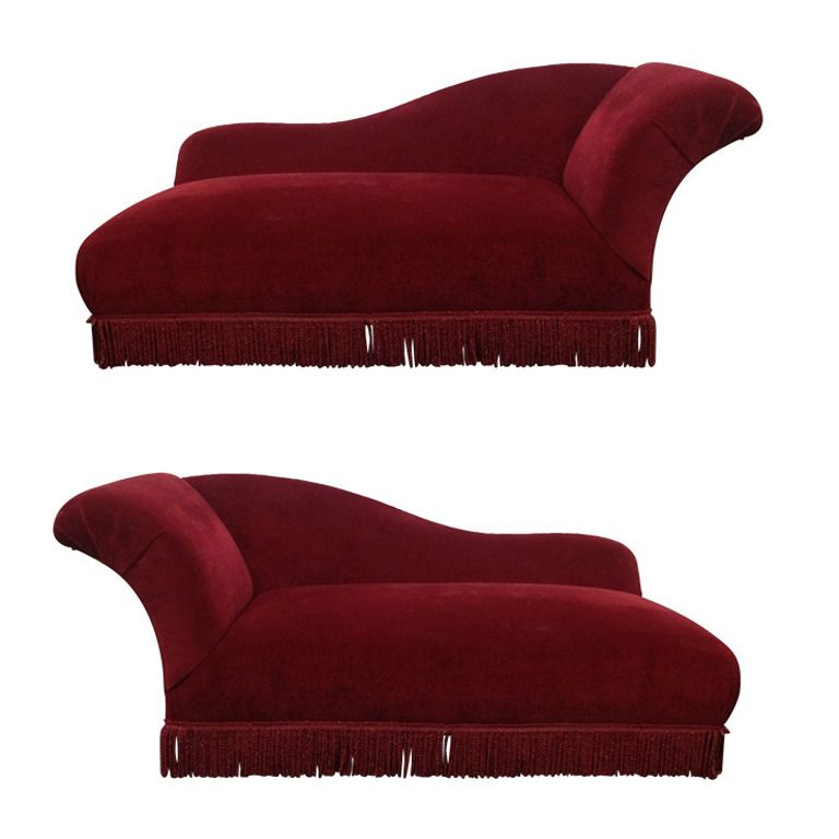 Two Art Deco Chaise Lounges 1stdibs Com French Art Deco Art Deco Sofa Deco Furniture
