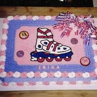Rollerblade Cake Ideas Cake Party Cakes Roller Skating Party