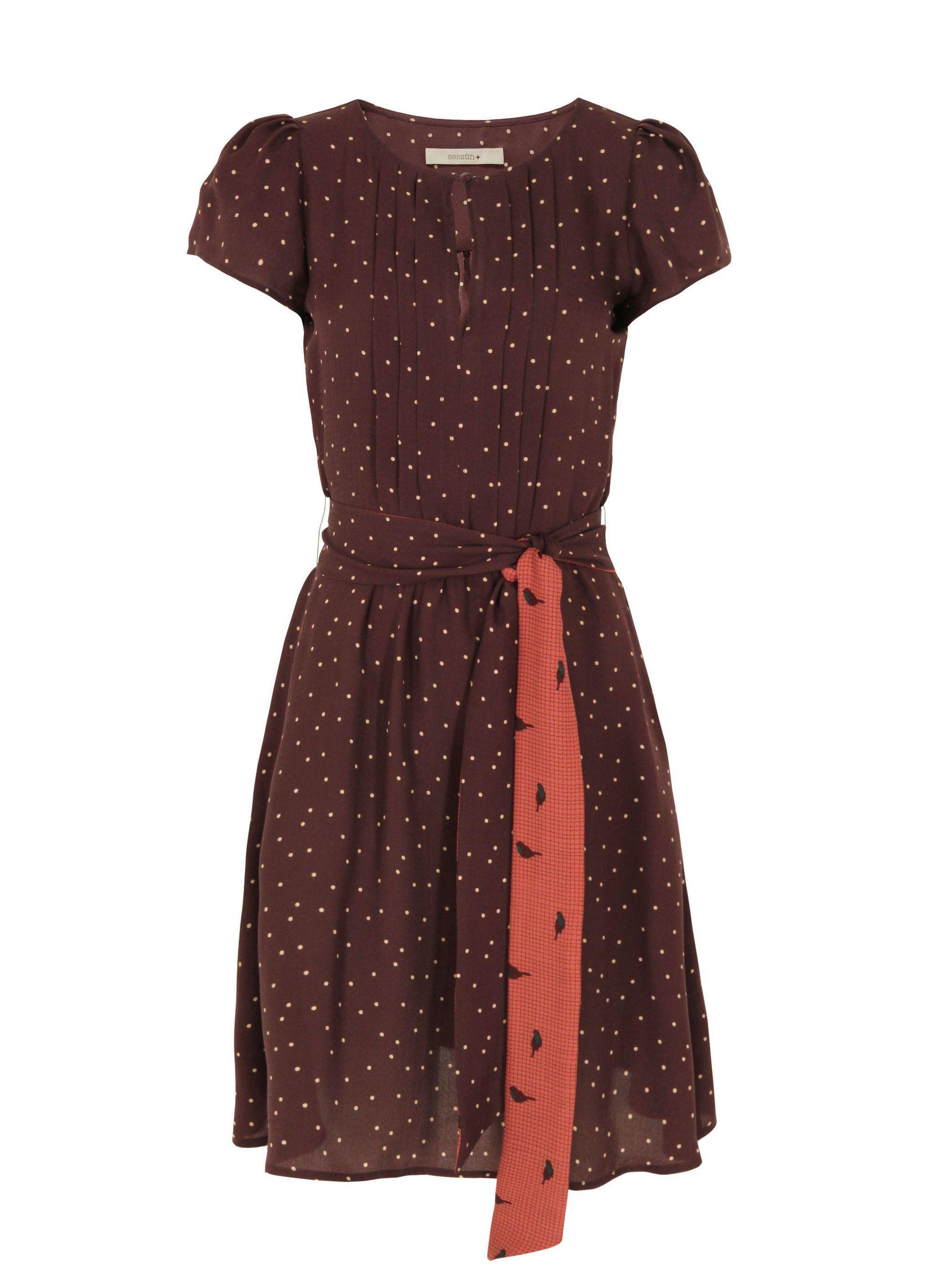 Mathilde Chianti Dress