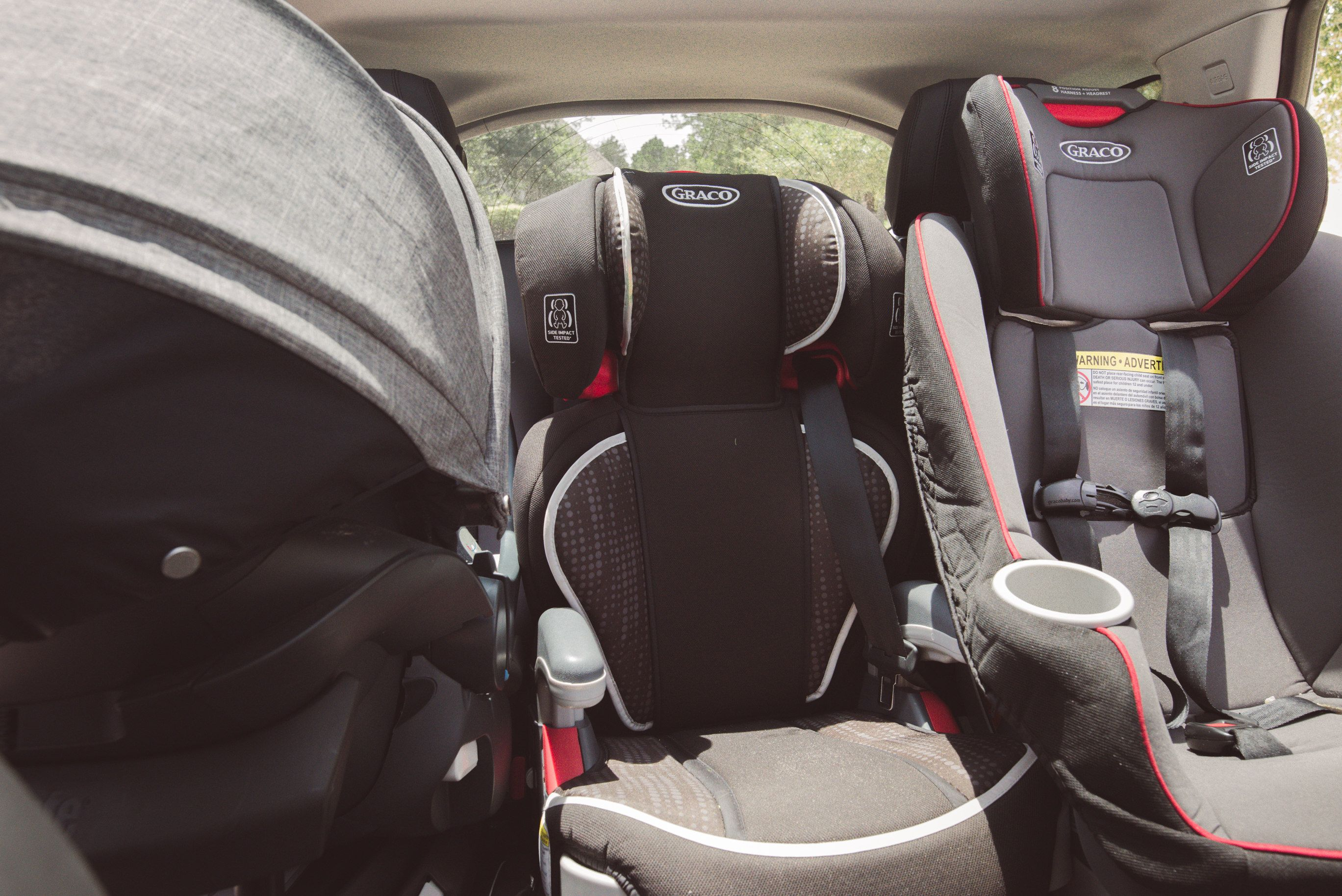 What To Do With Used Car Seats >> 3 Across Luxury Suvs Land Rover Discovery Sport 3 Across Car