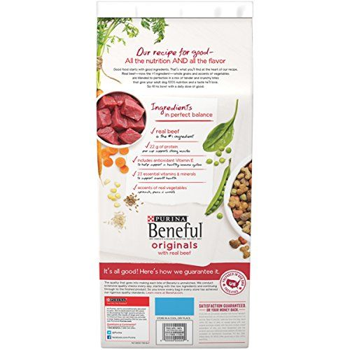 Purina Beneful Originals With Real Beef Dry Dog Food 15 5 Lb