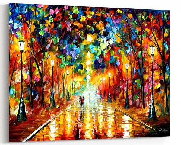 Farewell To Anger Gorgeous Rain Soaked Oil Painting Wall Art Picture Print On Canvas Wish Anger Art Large Oil Painting Oil Painting On Canvas