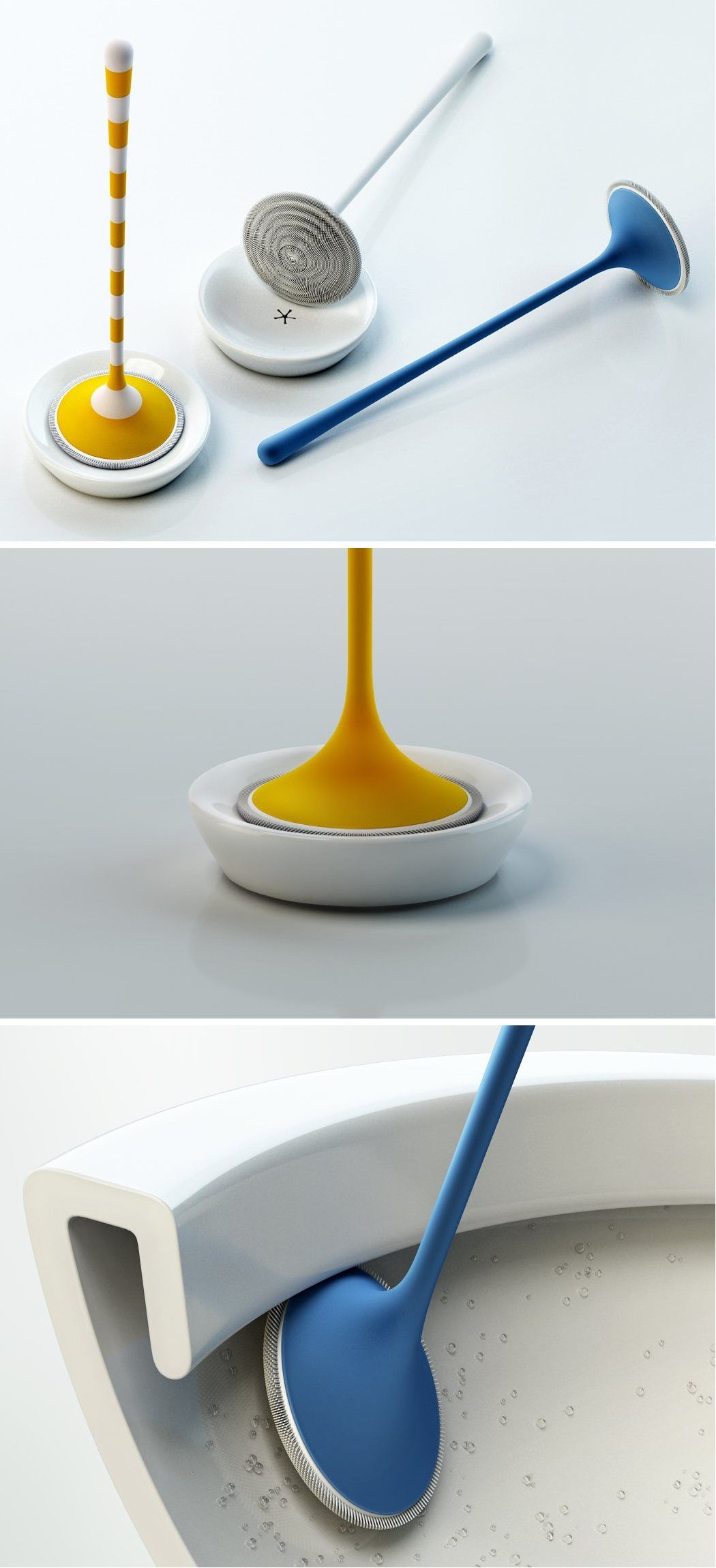 The Yosh toilet brush is a redesigned