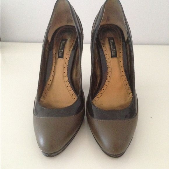 Massimo Dutti High shoes Brown high shoes from Massimo Dutti Massimo Dutti Shoes