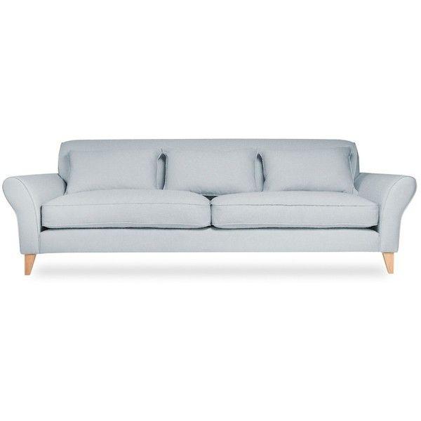 Leather Or Fabric Ellipse Sofa