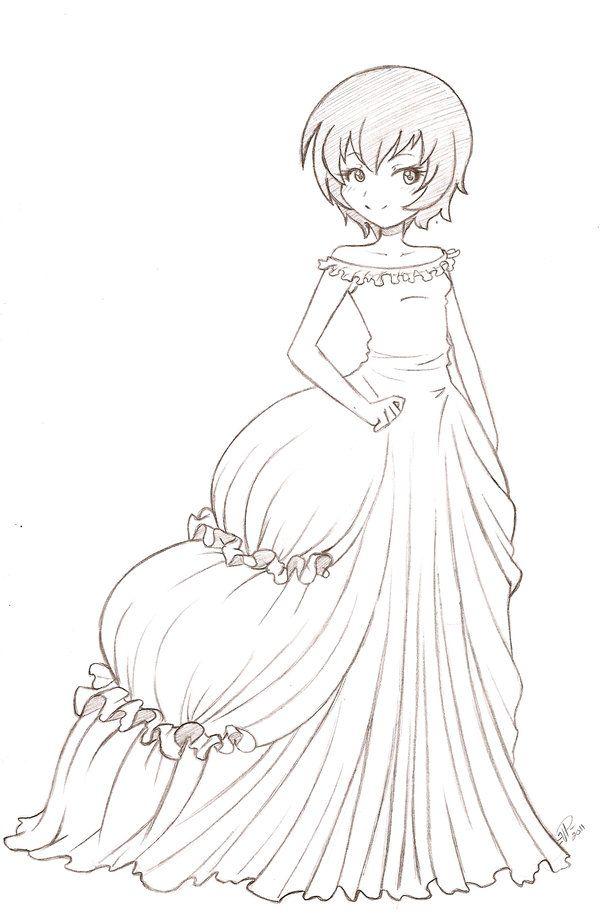 Pin de Auré Lie en Coloriages Manga   Pinterest   Dibujos boda ...