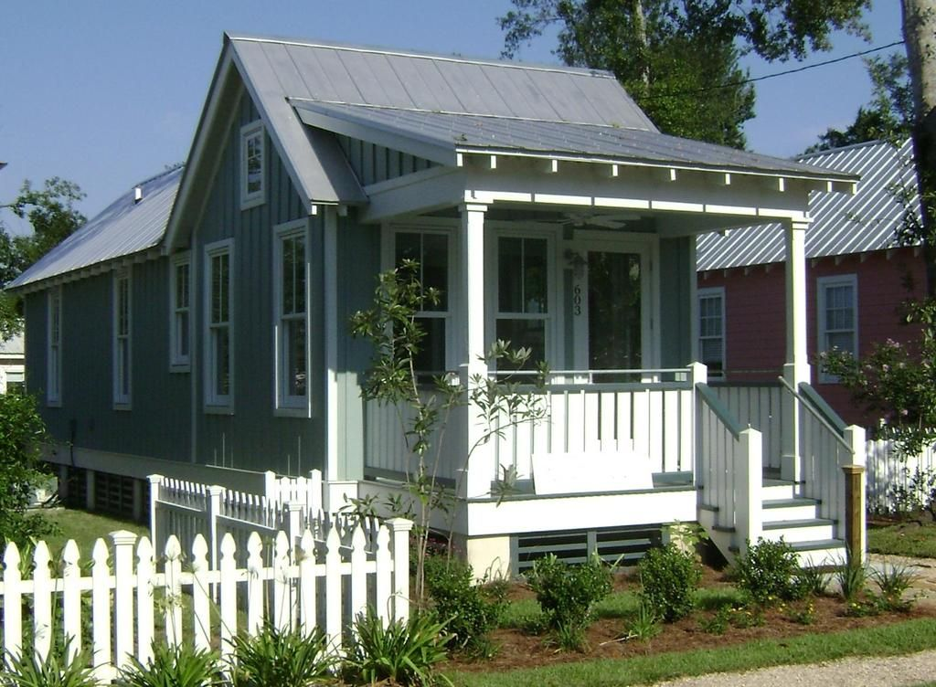 Cottage Style House Plan - 2 Beds 1.00 Baths 672 Sq/Ft Plan #536-4 ...