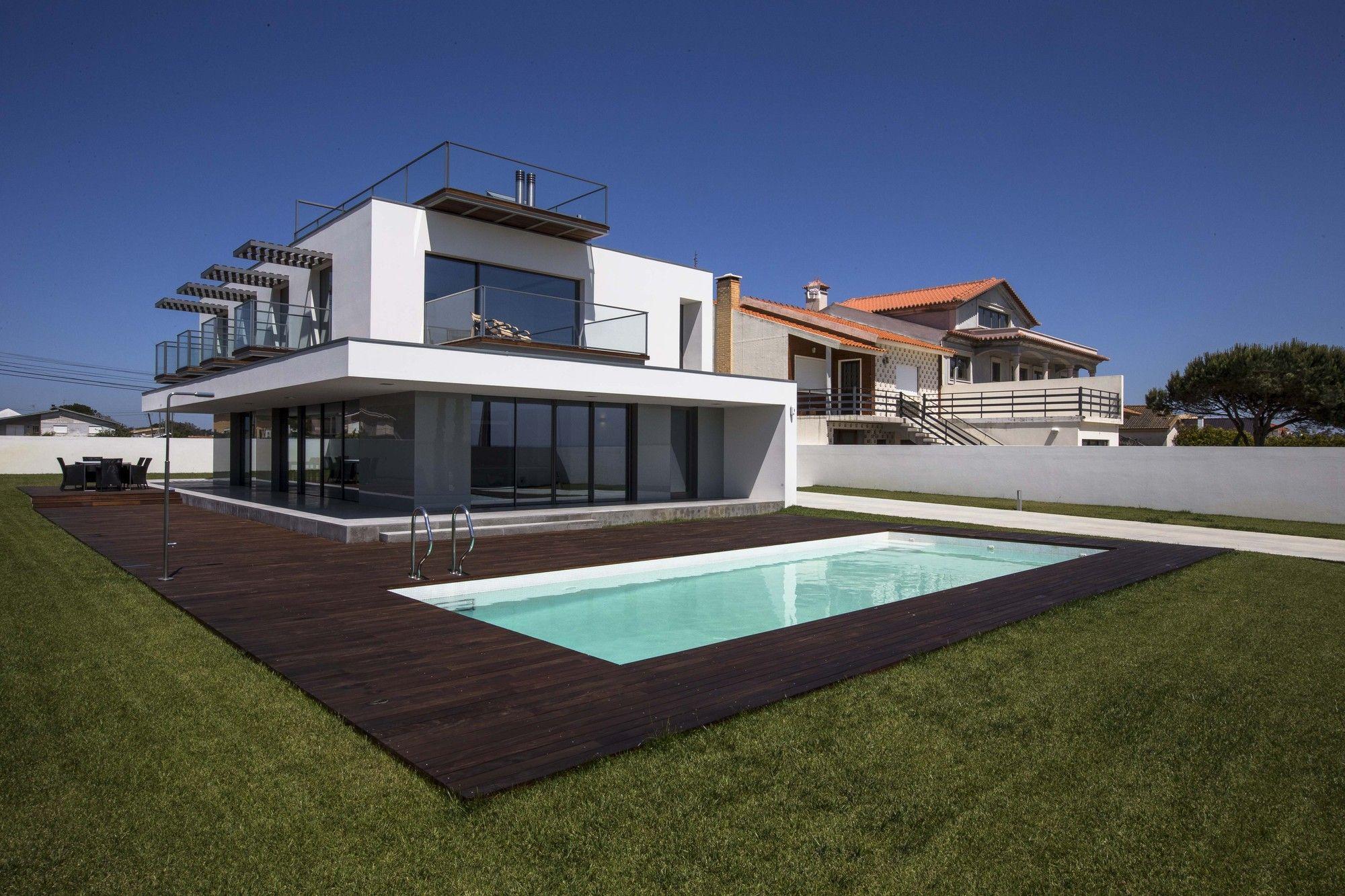 Modern VA House In Torreira Portugal Portuguese architecture