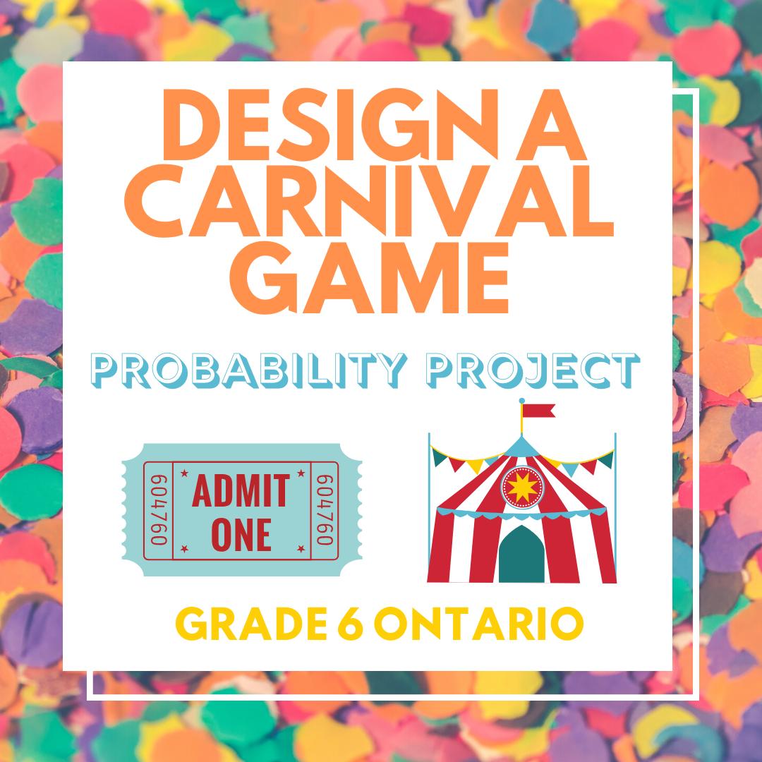 Design A Carnival Game