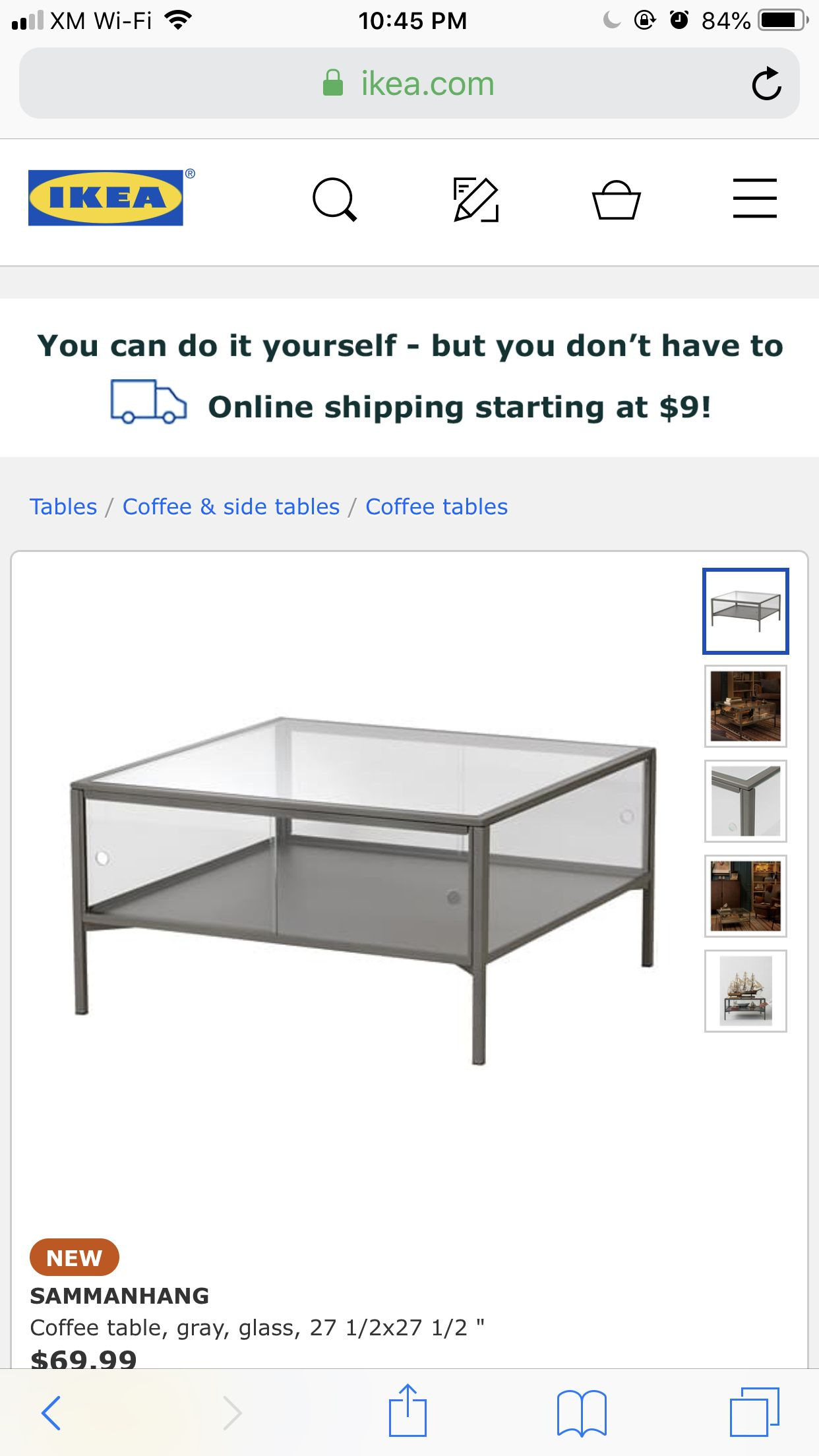 Pin By Jasmine Hotte On House List Coffee Table House Ikea [ 2208 x 1242 Pixel ]