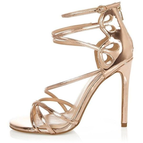 River Island Wide Fit High heeled sandals - yellow 6AudsDW5