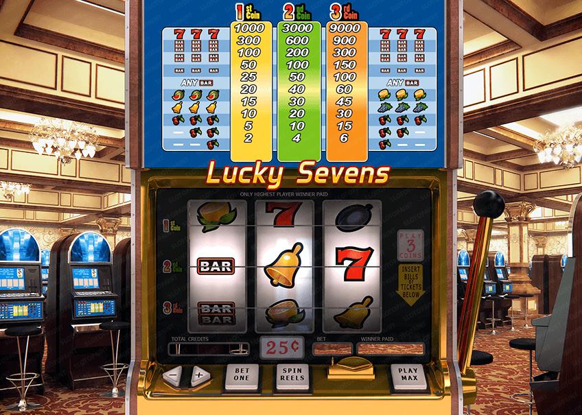 lucky sevens slot machines for sale slot machine slot rh pinterest com