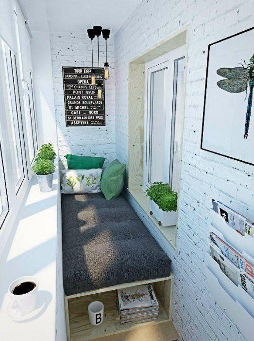 Küçük Balkonlar İçin 20 Yenilikçi Fikir #balconyideas