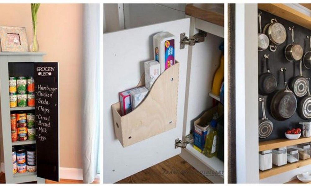 12 soluzioni geniali per creare spazio in cucina