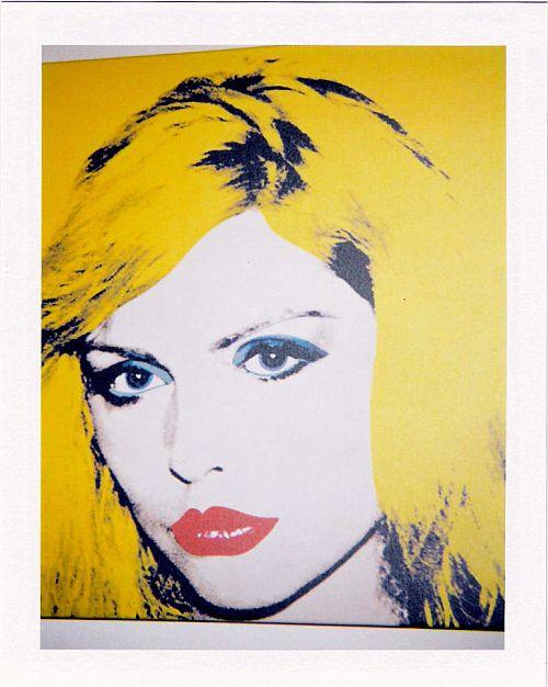 Debbie Harry By Andy Warhol Andy Warhol Portraits Andy Warhol