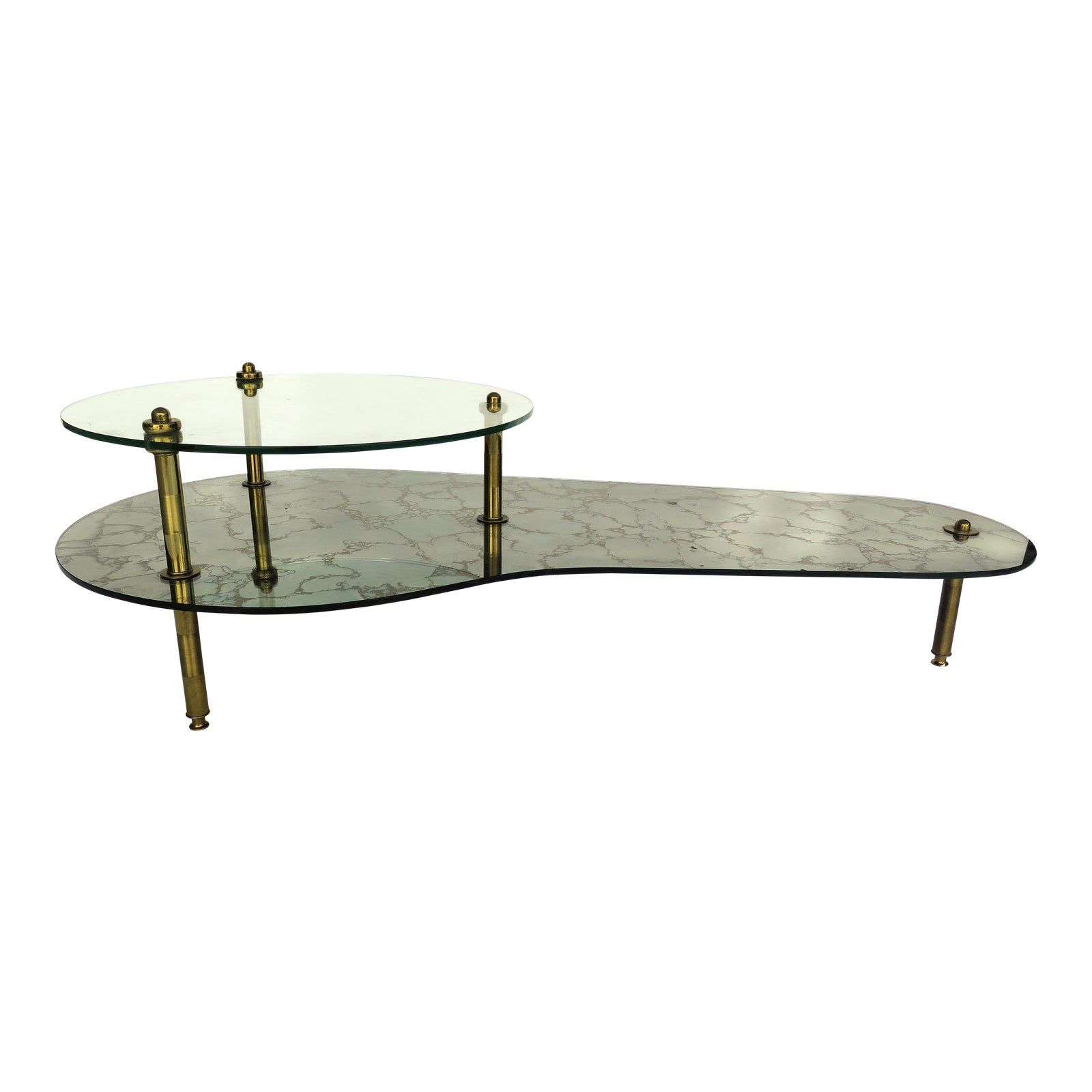 1970s Italian Mirrored Coffee Table Antique Coffee Tables Table Coffee