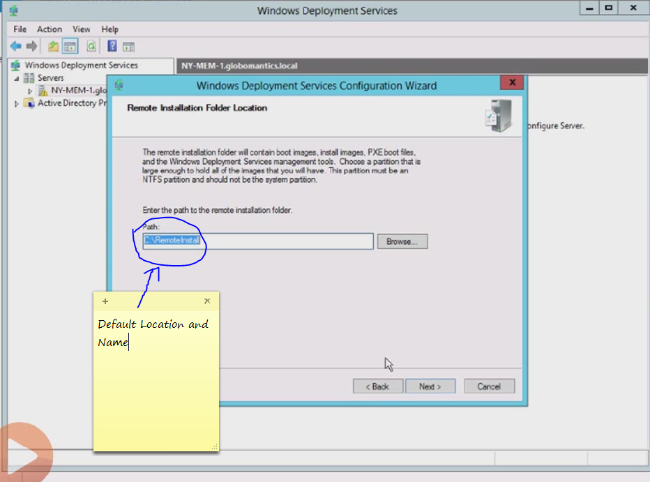 Install and Configure WDS 4 | Windows Server 2012 WDS