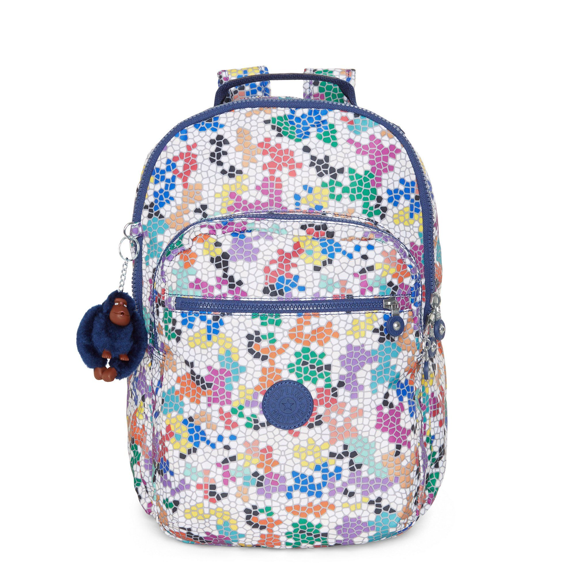 b458b6d473 Kipling Women s Seoul Large Printed Laptop Backpack One Size Spellbinder