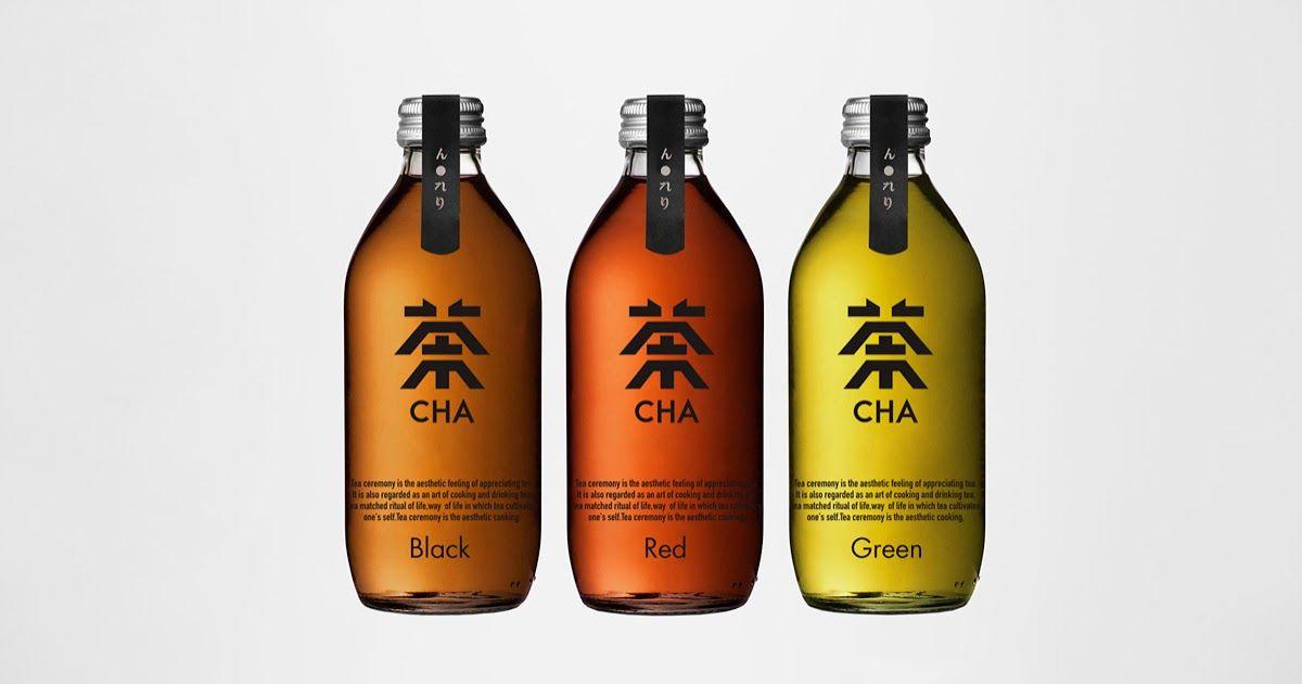 Cha Chinese Tea Drink Tea Packaging Design Drinks Packaging Design Tea Design