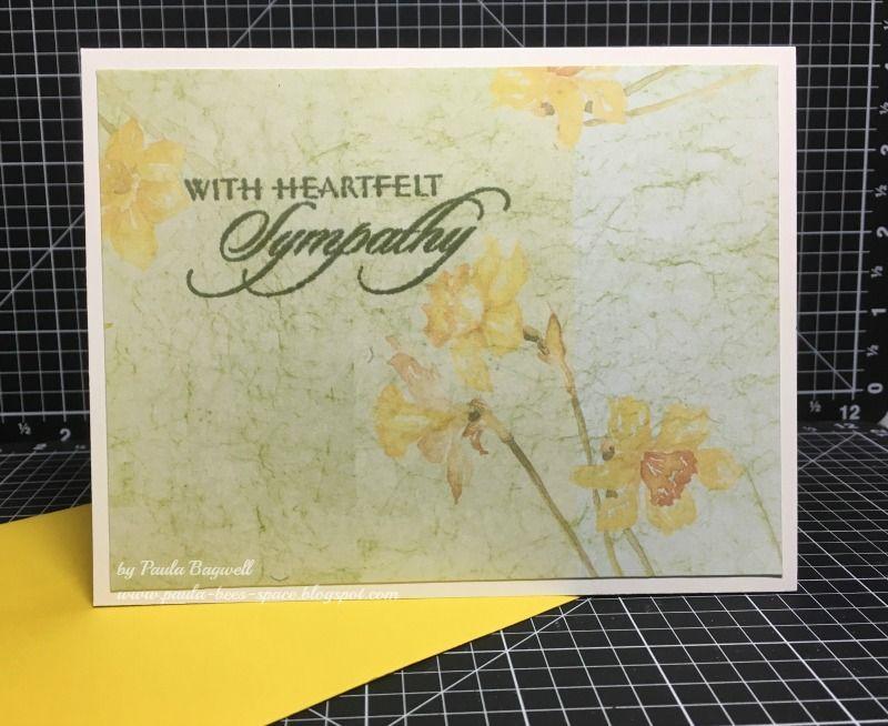 Super Simple Sympathy Card Sympathy Cards Cards Sympathy