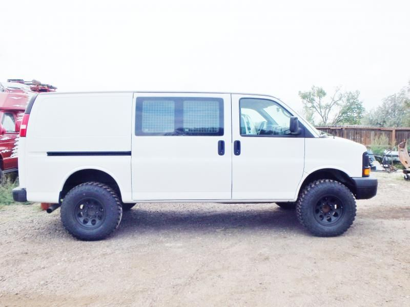 Lifted Van Lift Kit For Chevy Express Van Chevy Express Chevy