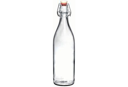 Giara-lasipullo 1l, kirkas, 3,95 e - Prisma (esim. tämä, myös muualta käy).