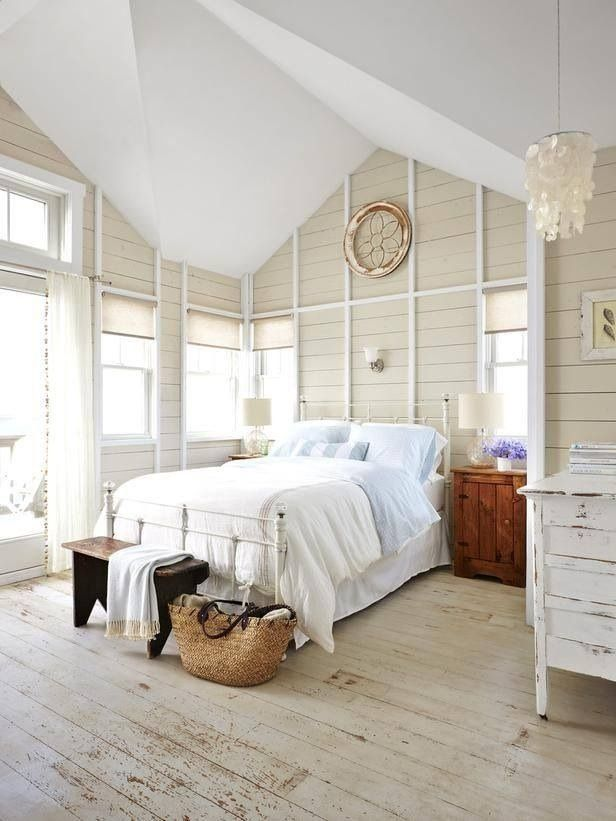 summery cottage y chicness home ideas pinterest bedrooms