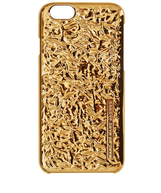Case Accessoires Metallic Jacobs 6 Marc Iphone Tone Foil By Gold xqHT1O