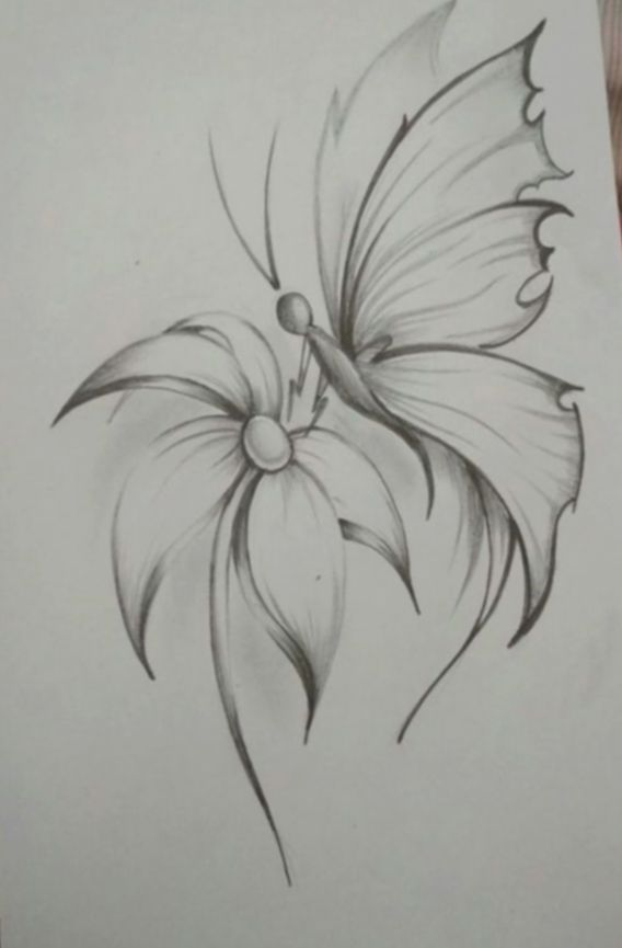 Drawing Flowers Pencil Tattoos 2020 Flower Art Drawing Pencil