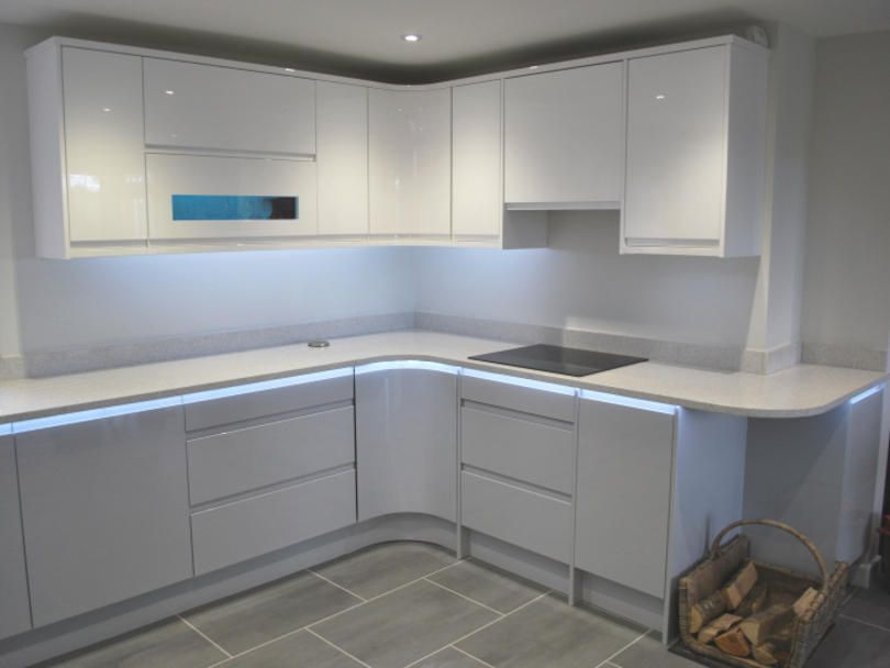 Best Remo Dove Grey White Kitchens By Dexter With Images 400 x 300