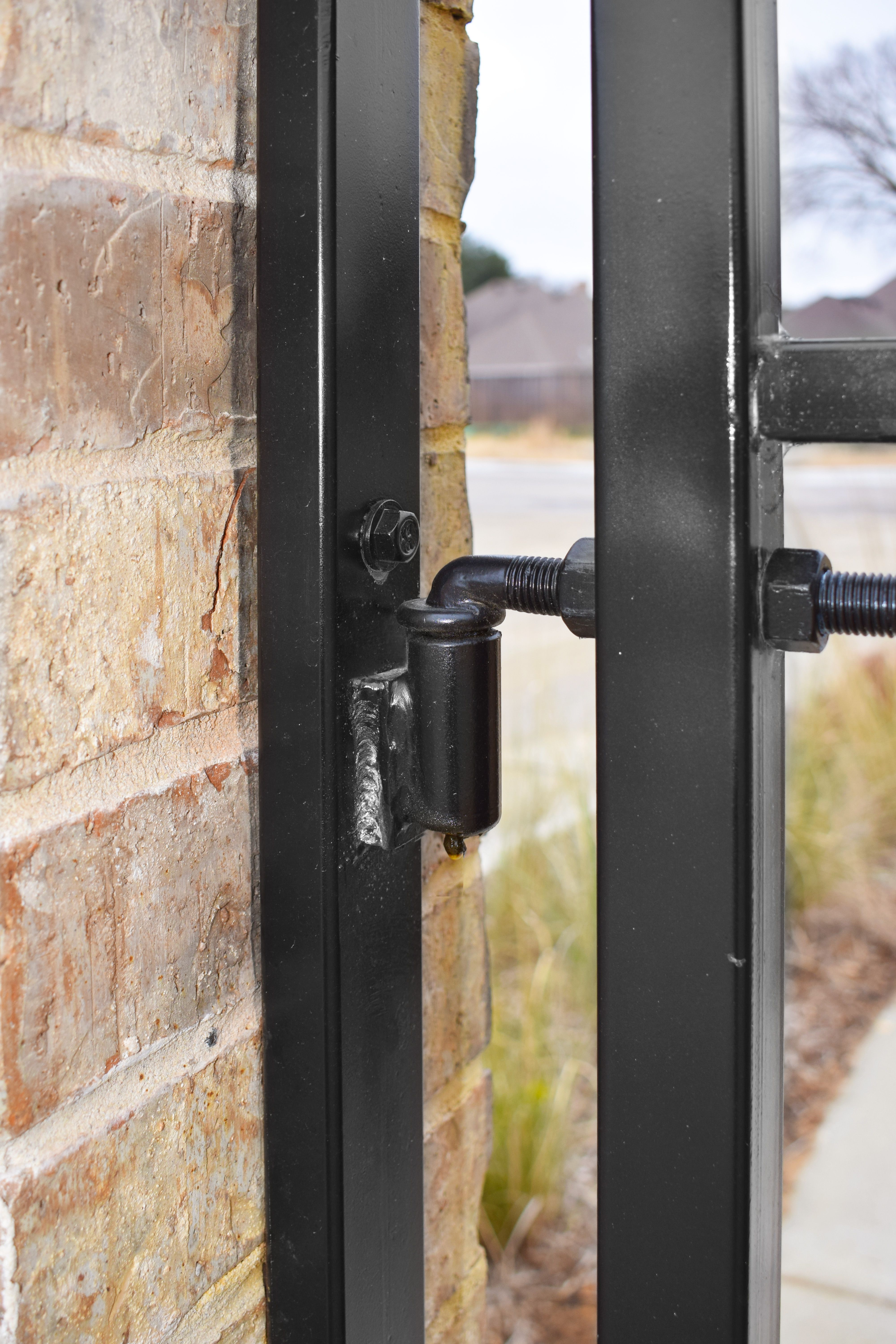 The Unsung Hero Of Every Gate Is The Hinge On Which It Relies On This One Is Item Number 44 2003 Adj Barrel Hinges Hinges Barrel