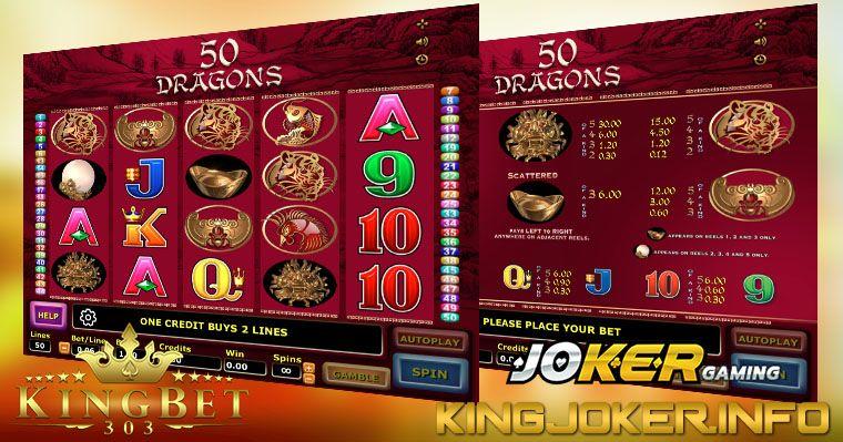 Review Slot Fifty Dragons Joker Casino ⋆ King Joker123