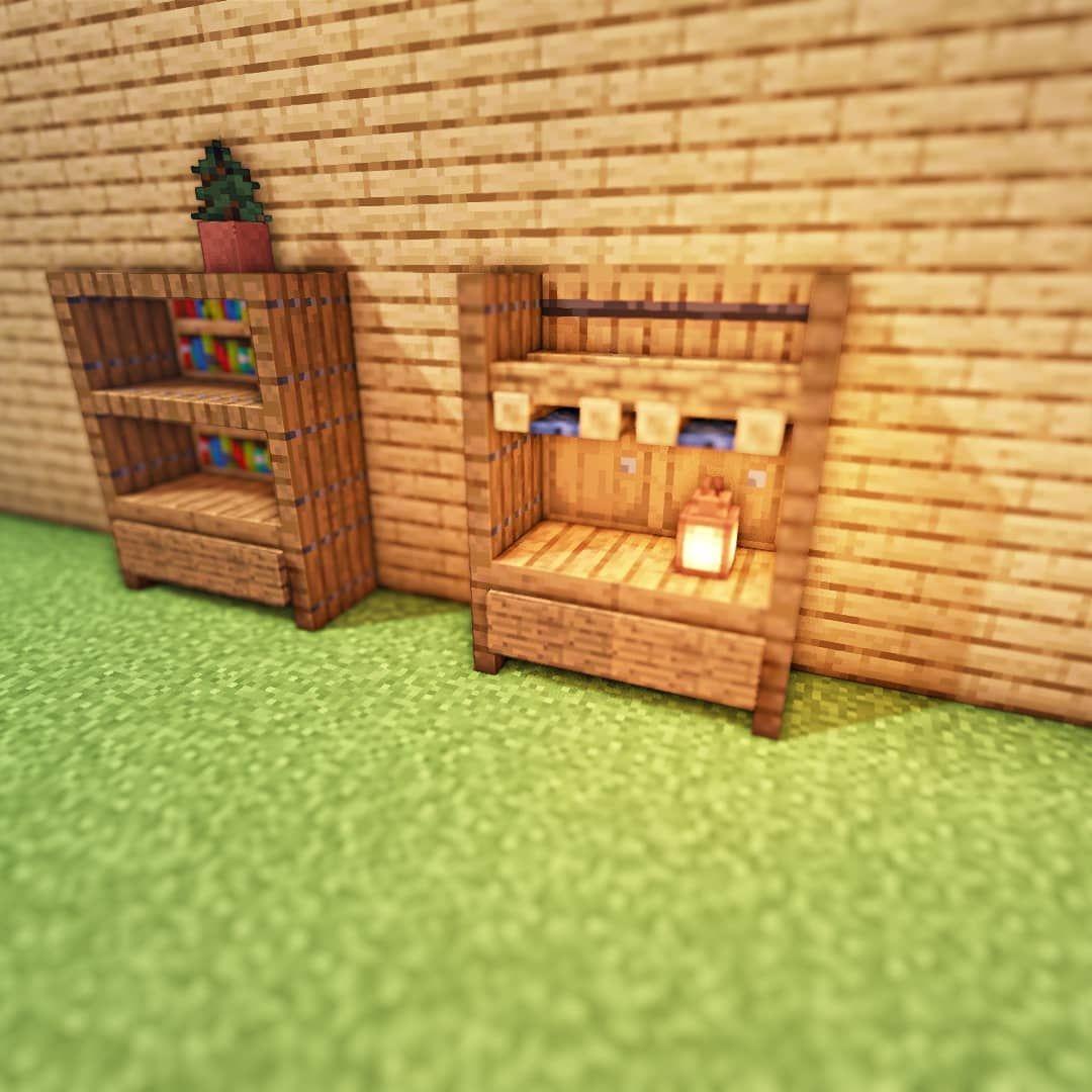 идеи для украшения комнаты в майнкрафт #5