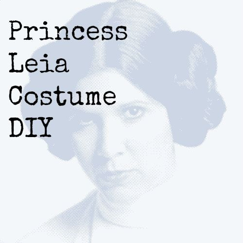 Check out our Princess Leia Costume DIY tutorial right in time for Halloween! Including her diy white robe, headband with buns plus official costumes too.