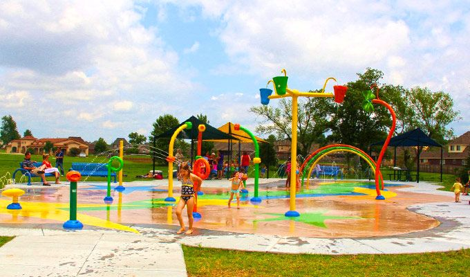 The City Of Dearborn Is Installing A Splash Pad And Spray