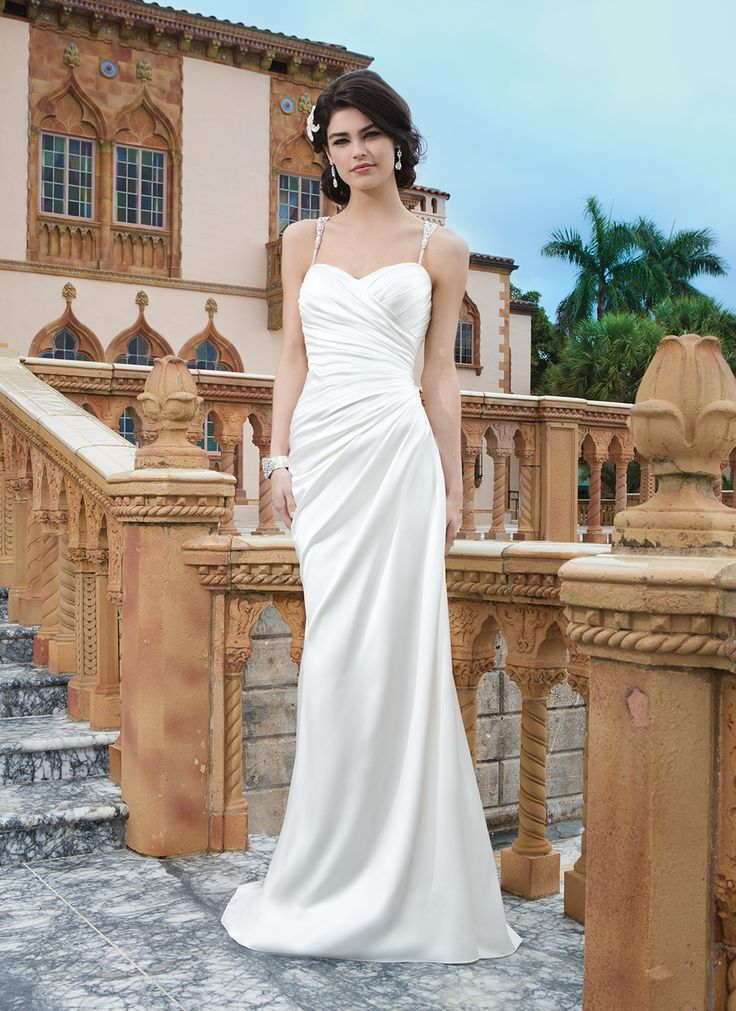 Straight Wedding Dresses No Train Google Search Beach Wedding Dresses Backless Cheap Wedding Dress Sincerity Bridal Wedding Dresses